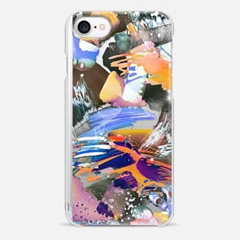 iPhone 7 Case Watercolor painting