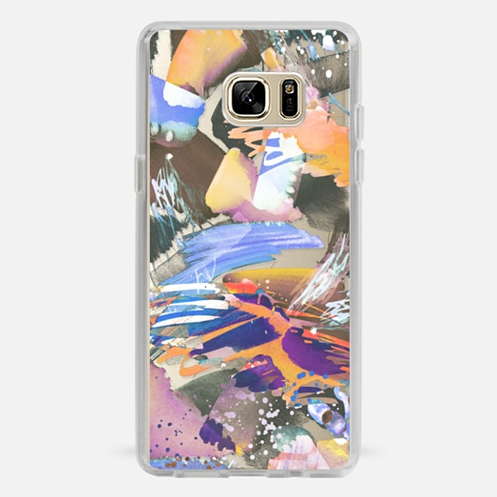 Galaxy Note 7 Case - Watercolor painting