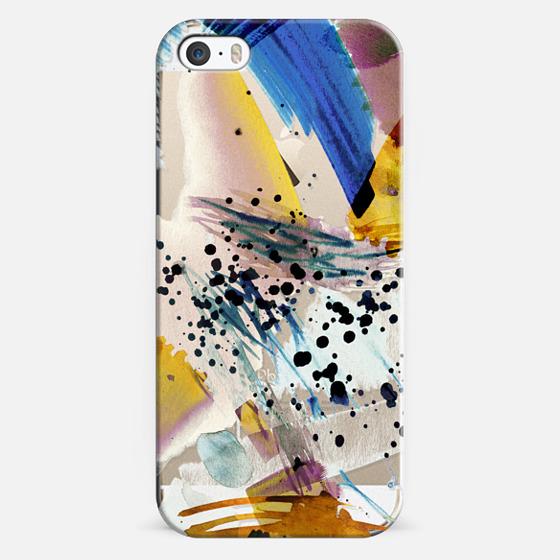 iPhone 5s Case - Colourful watercolor paint