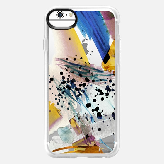 iPhone 6 Case - Colourful watercolor paint