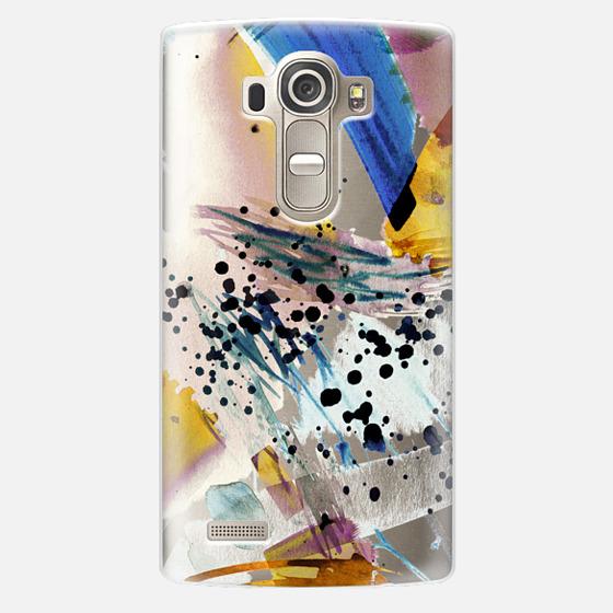 LG G4 Case - Colourful watercolor paint