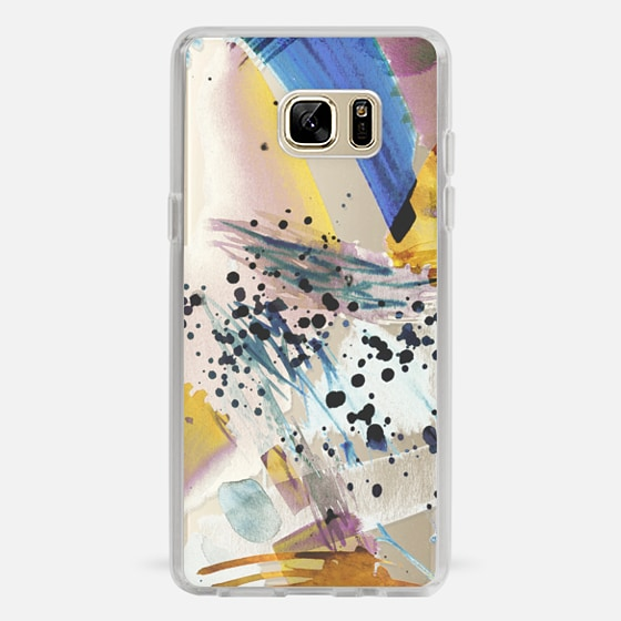 Galaxy Note 7 Case - Colourful watercolor paint