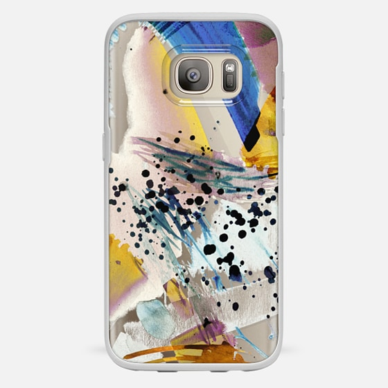 Galaxy S7 Case - Colourful watercolor paint