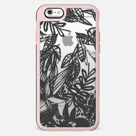 Black painted foliage - New Standard Case