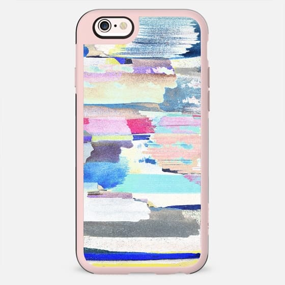Colourful Painted stripes - New Standard Case