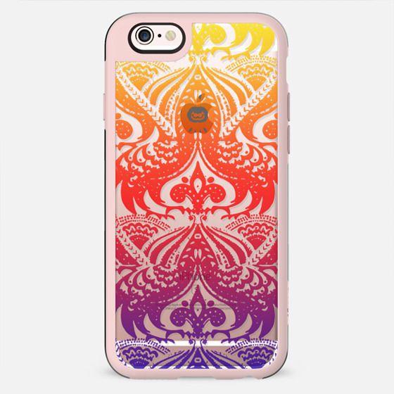 Colourful gradient lace