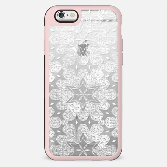 Textured white lace - New Standard Case