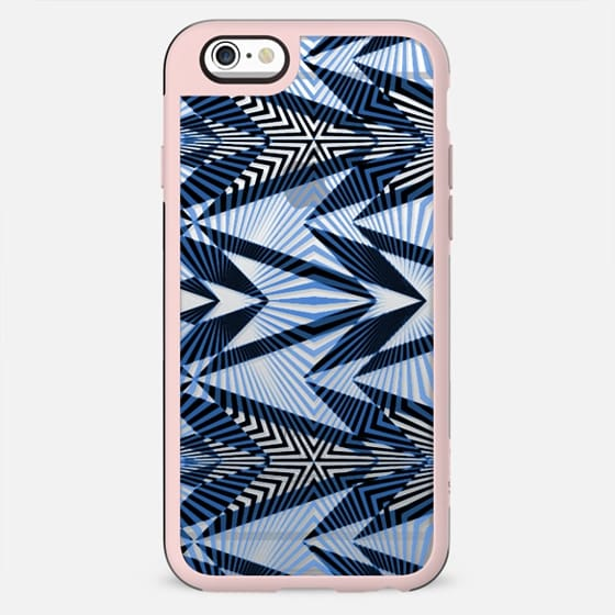 Ethnic stripes - clear case - New Standard Case