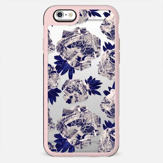 Painted stylised roses - New Standard Case