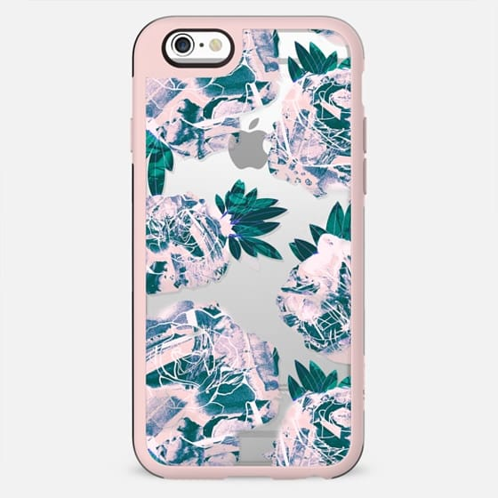Pink stylised roses - New Standard Case