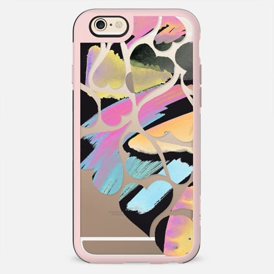 Playful painted hearts - New Standard Case