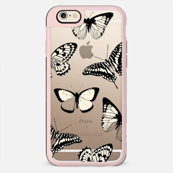 Line art butterflies - New Standard Case