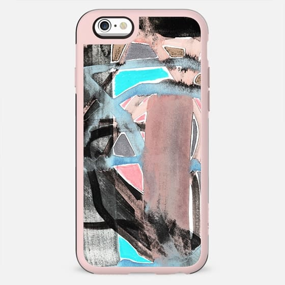 Colourful watercolor brushstrokes - New Standard Case