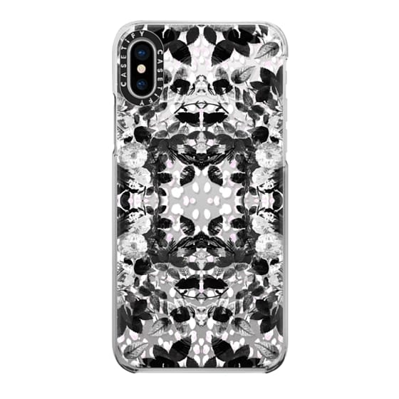 iPhone 6s Cases - Black and white roses pattern