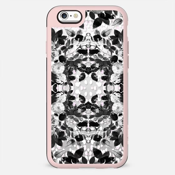 Black and white roses pattern - New Standard Case
