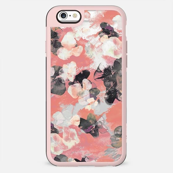 Painted pansy petals - New Standard Case
