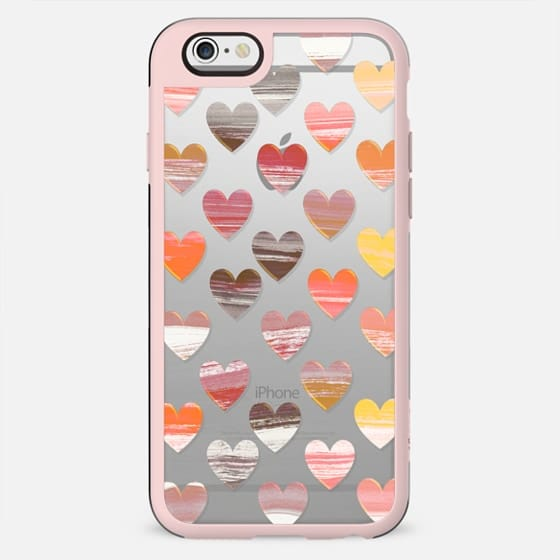 Chocolate painted hearts - New Standard Case