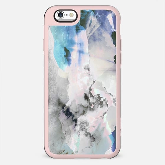 watercolor painted clouds - New Standard Case
