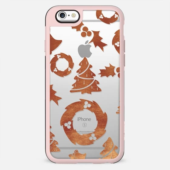 Copper foil Christmas pattern - New Standard Case