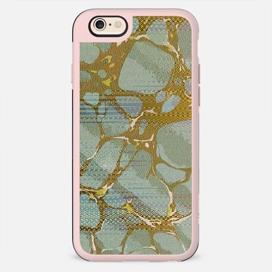 Pastel golden marble