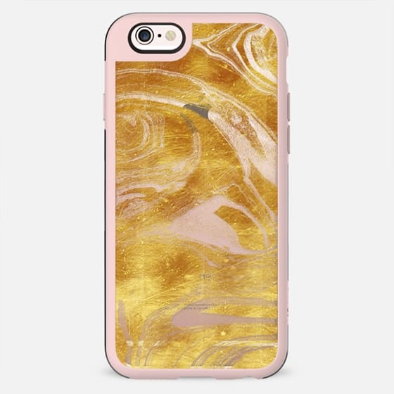 Golden foil marble - New Standard Case
