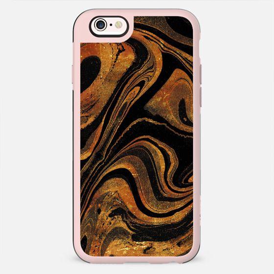Dark golden marble paint - New Standard Case