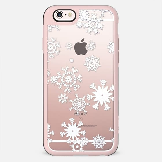 White snowflakes lace - New Standard Case