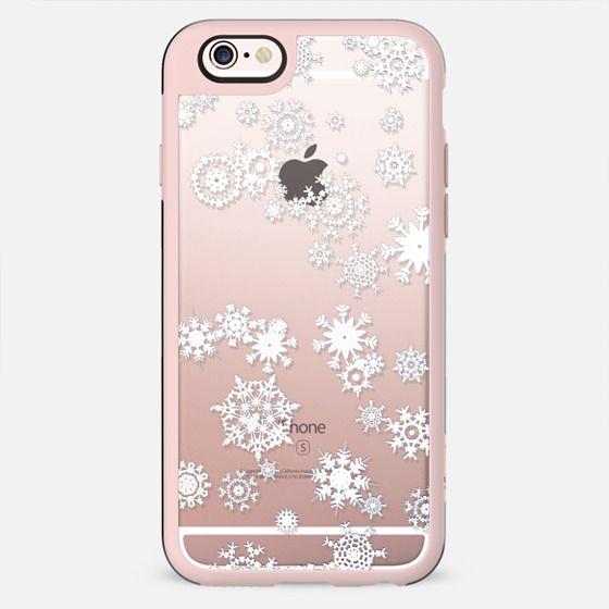 White snowflakes - New Standard Case