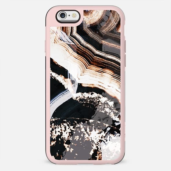 Grunge white marble lines - New Standard Case