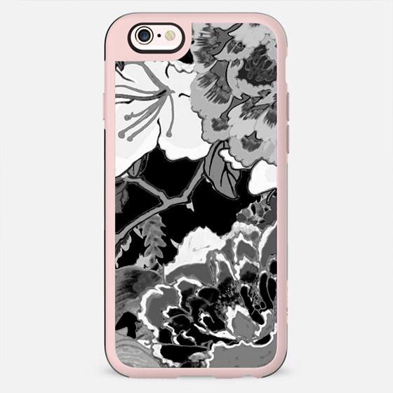 Black and white floral illustration - New Standard Case