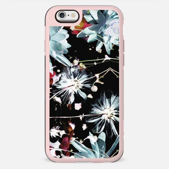 Blue x-ray flowers - New Standard Case