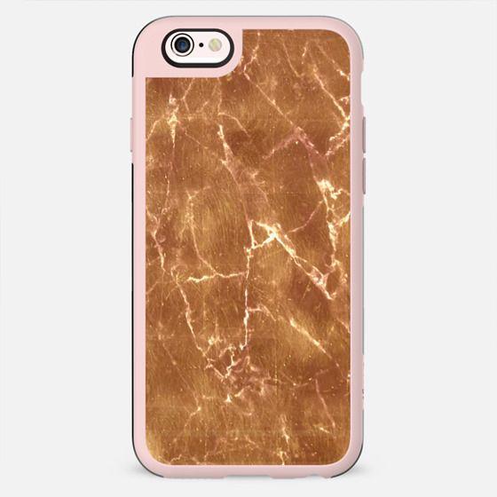 Subtle gold marble cracks - New Standard Case