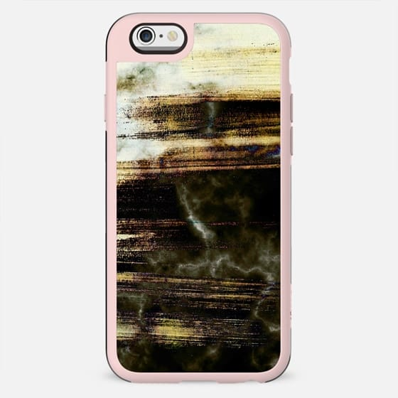 Burnt brushed duotone marble - New Standard Case