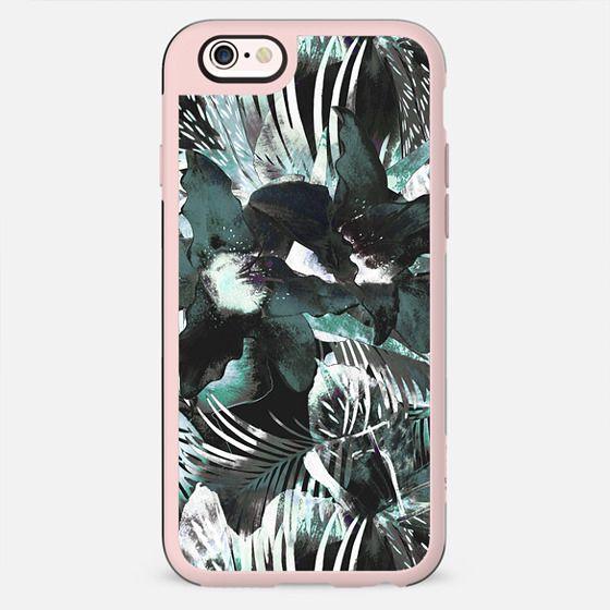 Dark stylised exotic plants - New Standard Case