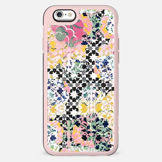 Soft pastel asian patchwork - New Standard Case