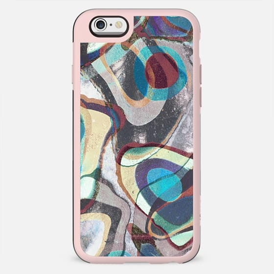 Colourful grainy graffitti painting - New Standard Case