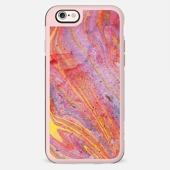 Red yellow marble - New Standard Case