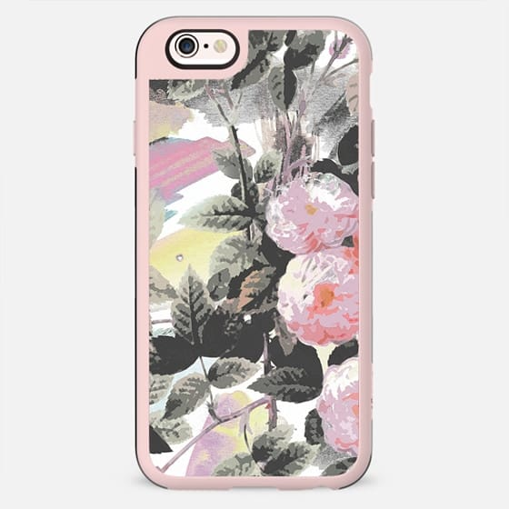 Painted watercolor pink roses - New Standard Case