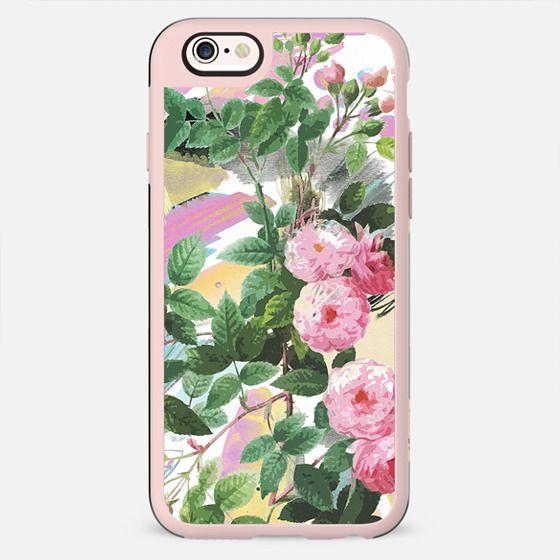 Painted pink rose illustration - New Standard Case