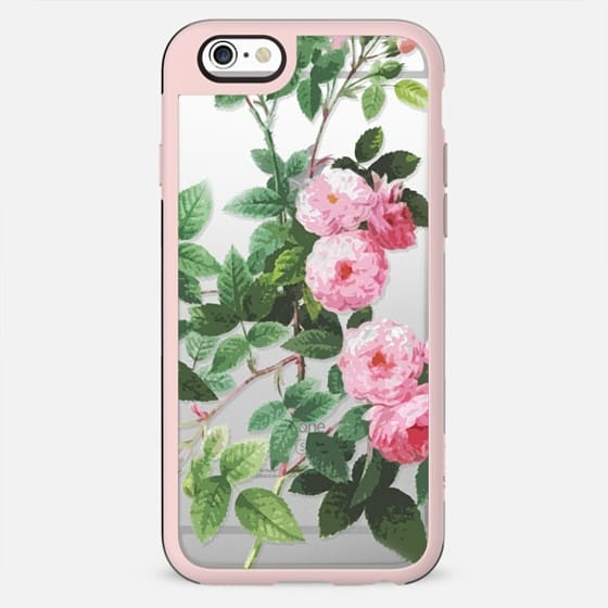 Pink roses botanical illustration - New Standard Case