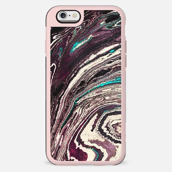 Textured marble paint waves - New Standard Case