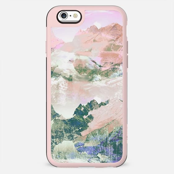 Pink painted mountain landscape - New Standard Case
