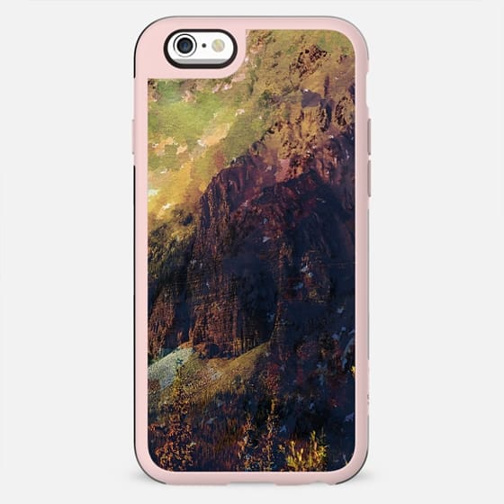Brown abstract mountain forest - New Standard Case