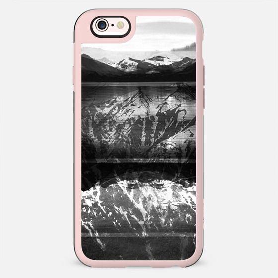 Winter monochrome mountain landscape - New Standard Case