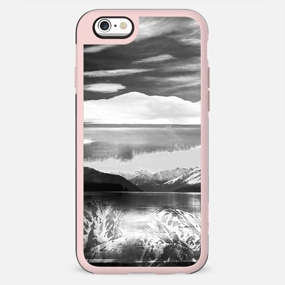 Winter monochrome mountain landscape - New Standard Case