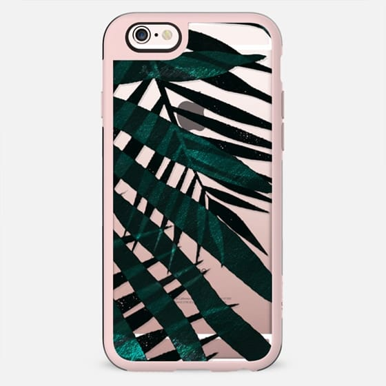 Metallic palm leaves - New Standard Case