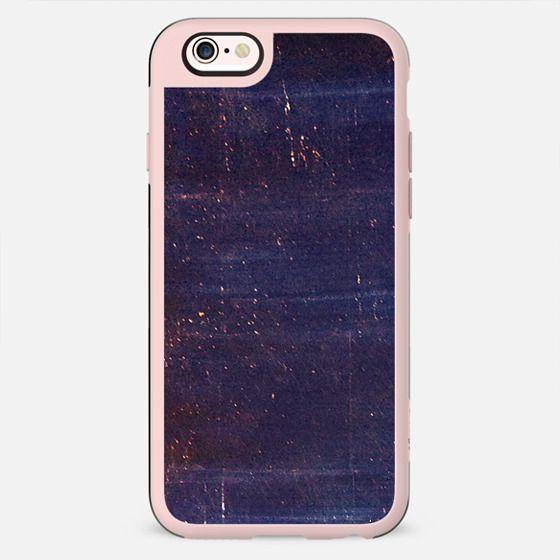 Scratched dark blue paint - New Standard Case
