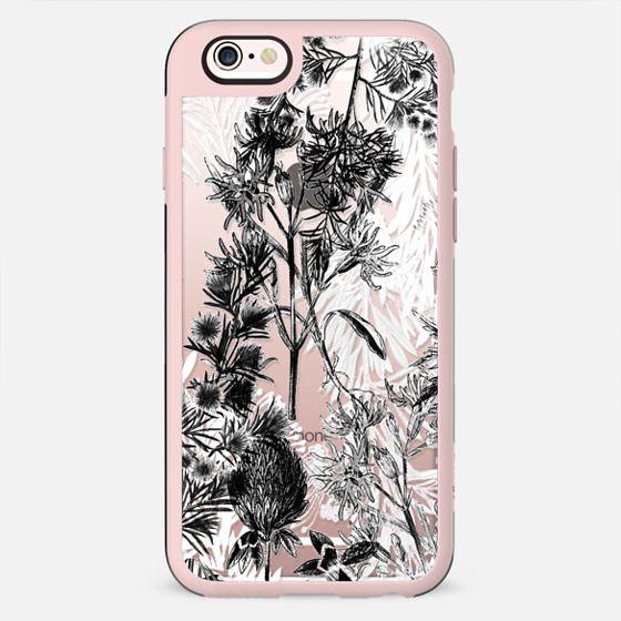 Black and white botanical illustration - New Standard Case
