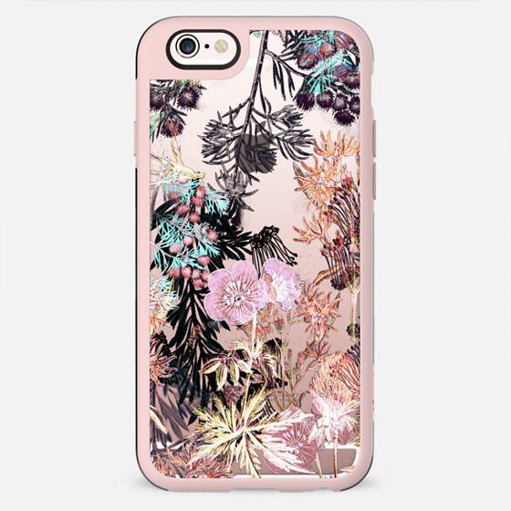 Pastel botanical garden illustration - New Standard Case