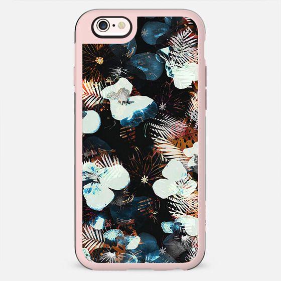 Dark night pansy petals - New Standard Case